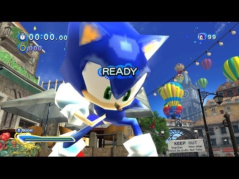 how to download sonic generations mods