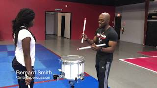 Amazing Snare Drum Battle Teacher Vs. Student