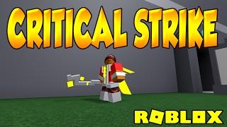 CRITICAL STRIKE | BOSS BATTLE FAIL | ROBLOX | iBeMaine