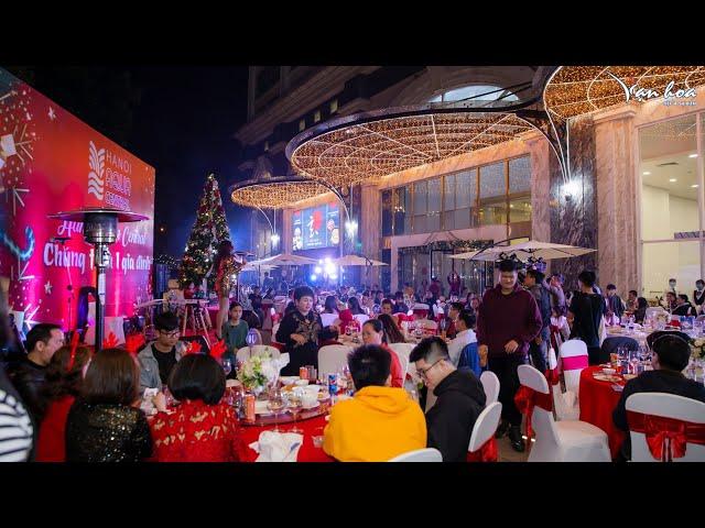 [BẢN TIN TUẦN 52] - VẠN HOA TV. Bữa tiệc cuối năm ấm cúng tại chung cư sang trọng Hanoi Aqua Central