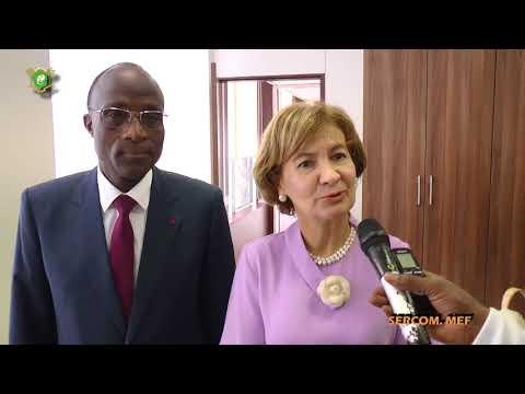 Le Ministre Adama Koné échange avec la Secrétaire d'Etat aux Affaires étrangères du Portugal