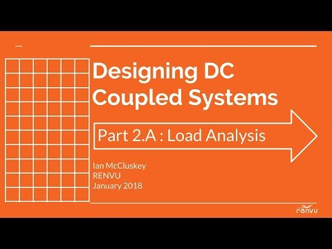 Part 2A : Load Analysis - Designing DC Coupled System | RENVU