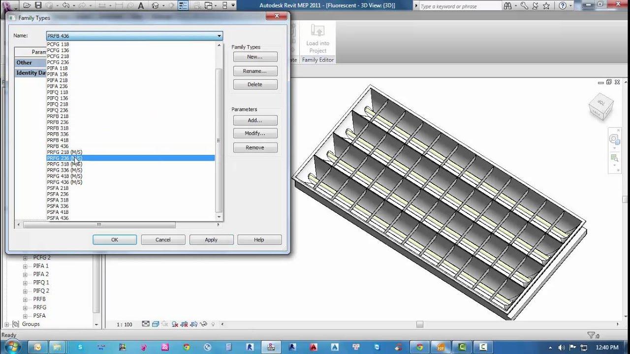 Lighting fixtures revit family youtube lighting fixtures revit family arubaitofo Choice Image