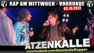 RAP AM MITTWOCH - 03.10.12 BattleMania Vorrunde (2/4) GERMAN BATTLE