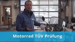 Motorrad TÜV Prüfung