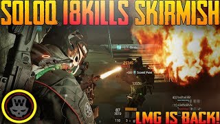 18 KILLS SKIRMISH SOLOQ! (The Division 1.8 gameplay)