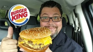 Burger King PHILLY CHEESE KING Sandwich Review