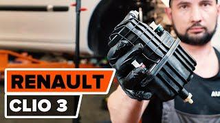Hogyan cseréljünk Üzemanyagszűrő RENAULT CLIO III (BR0/1, CR0/1) - video útmutató