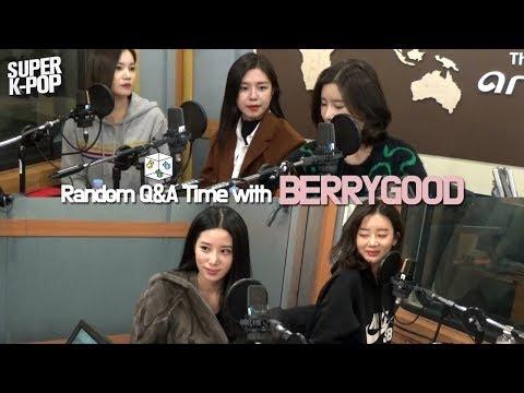 Super K-Pop 베리굿 BERRYGOOD&39;s Random Q&A Time on Arirang Radio