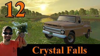 Farming Simulator 2015 Crystal Falls E12 - Getting ready to feed the cows