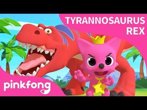 [Deutsch] Tyrannosaurus Rex Tanz mit Pinkfong | Dinosaurier - Lied | Pinkfong Lieder für Kinder