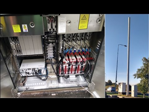 Revealed: Insides of Mobile Mast Cabins and Cabinets! Ericsson RBS6102 BTS, 3 Komodo, Hutch...