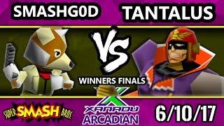 Smash 64 - SmashG0D (Fox) Vs. VGBC | Tantalus (Captain Falcon) Super Smash Bros. WF