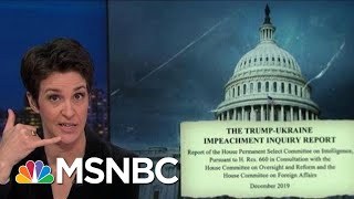 Impeachment Report Reveals Unexpected Calls Between Giuliani, OMB | Rachel Maddow | MSNBC