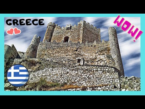 GREECE: exploring abandoned ancient fort, island of RHODES (ΡΟΔΟΣ)