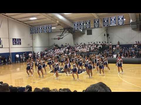 Jackson Academy Accents Pep Rally 8/15/2017