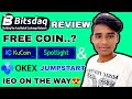 Bitsdaq Exchange - Legit Or SCAM | Kucoin Spotlight & Okex Exchange OK-Jumpstart IEO Explained |
