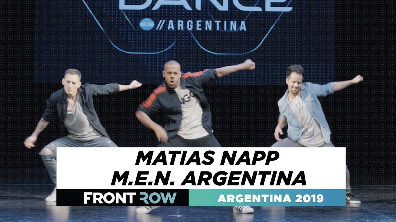 Matias Napp M.E.N. Argentina | FRONTROW | World of Dance Argentina Qualifier 2019| #WODARG19
