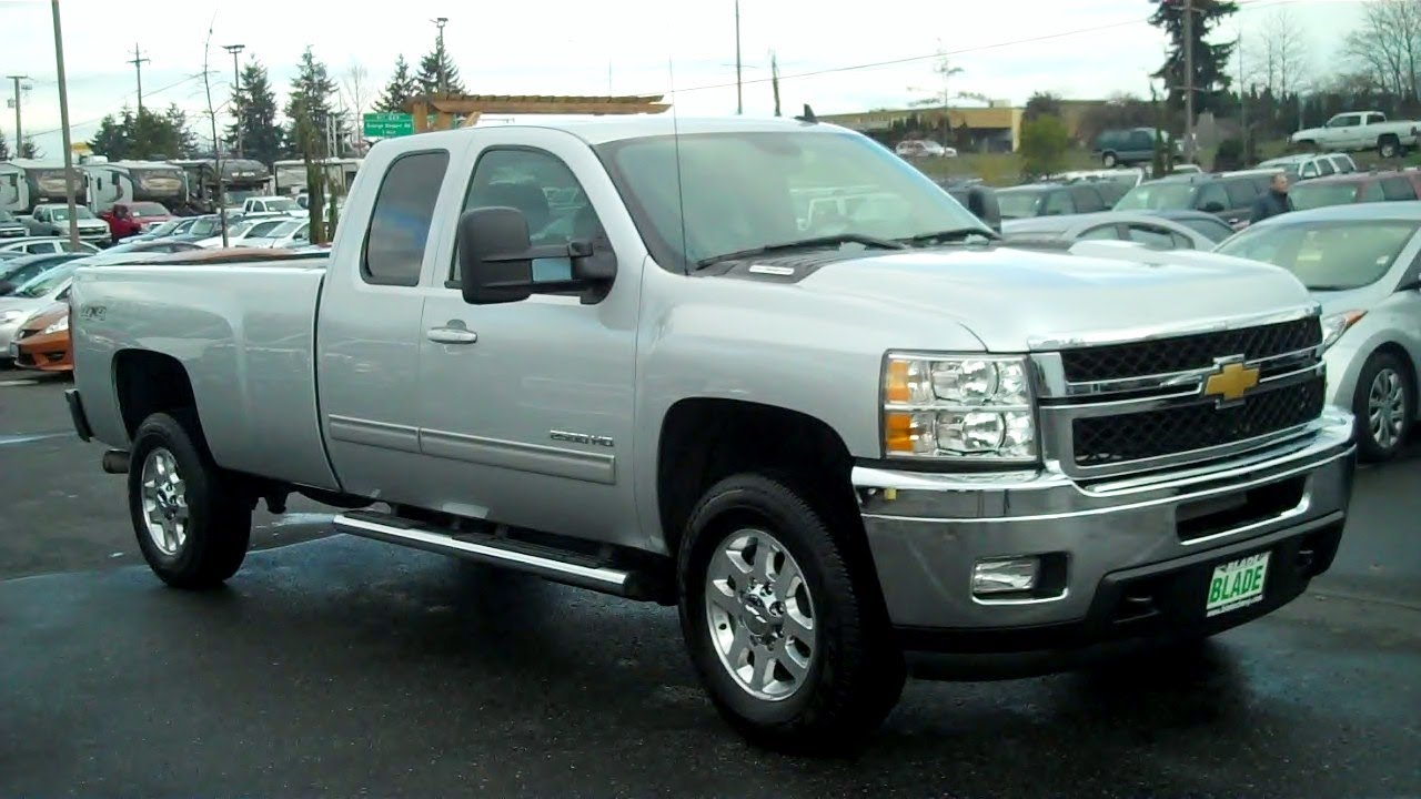 All Chevy 2013 chevy 2500hd ltz : 2013 Chevrolet Silverado 2500HD LTZ 4WD Duramax 6.6L V8 Turbo ...