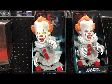 Pennywise Halloween New Orleans 2020 Pennywise Side Stepper | Spirit Halloween 2020   YouTube
