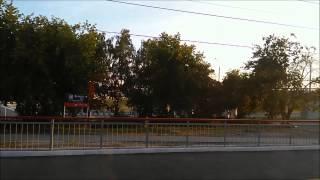 Вид на Карьер Борок, Бугринский мост, Большевистскую улицу с РЖД