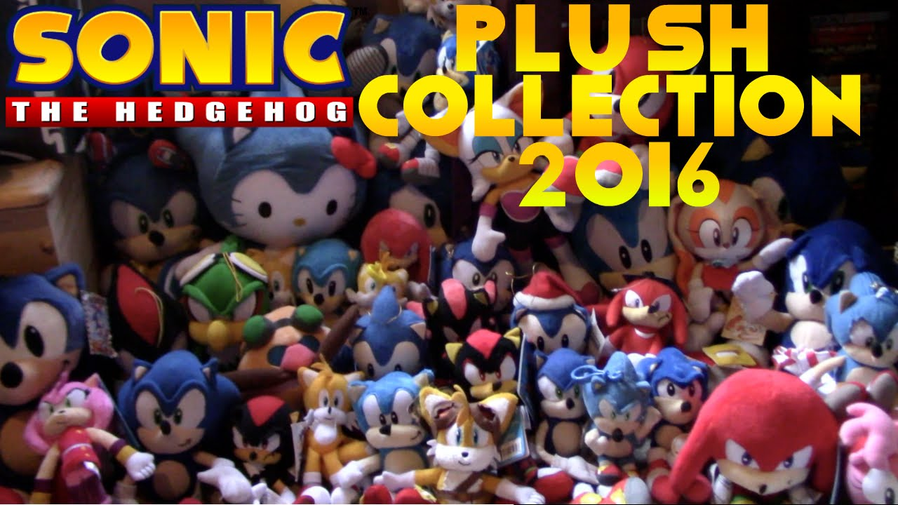 82c24463973 Sonic The Hedgehog Plush Collection 2016 - YouTube