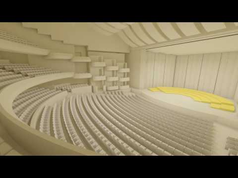 Dubai Opera room transformation animation