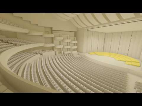 Dubai Opera room transformation animation