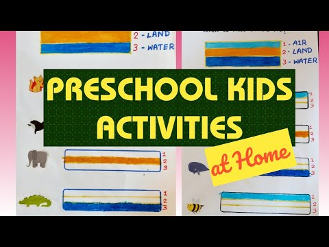 Preschool Activities For Kids Which Animals Live On Land In Water Or In Air Easy Nicey52 Youtube Preschool activities for learning, creative curriculum and so much more. preschool activities for kids which animals live on land in water or in air easy nicey52