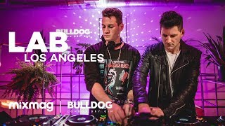 Destructo B2B Kaz James house set in The Lab LA | Bulldog Gin