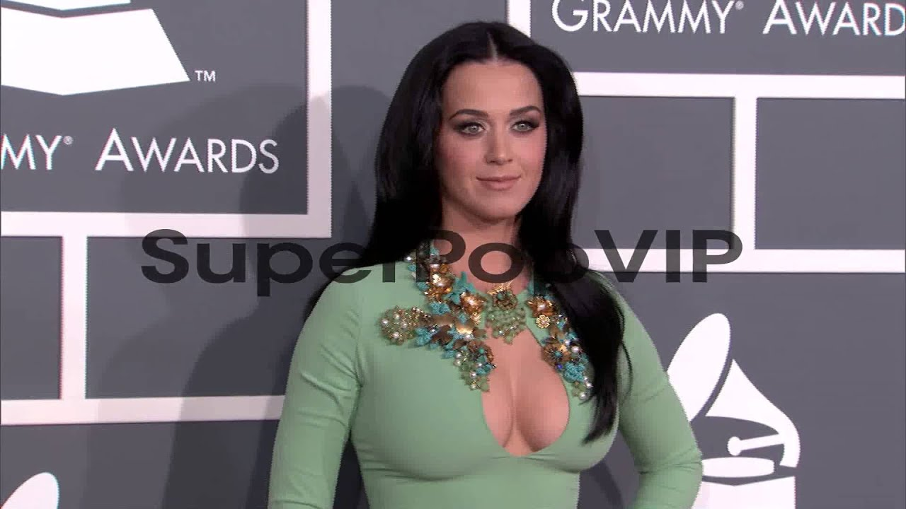 6686c7981cc4 Katy Perry at The 55th Annual GRAMMY Awards - Arrivals 2 ... - YouTube