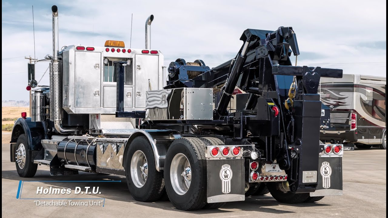 medium resolution of holmes d t u detachable towing unit by miller industries