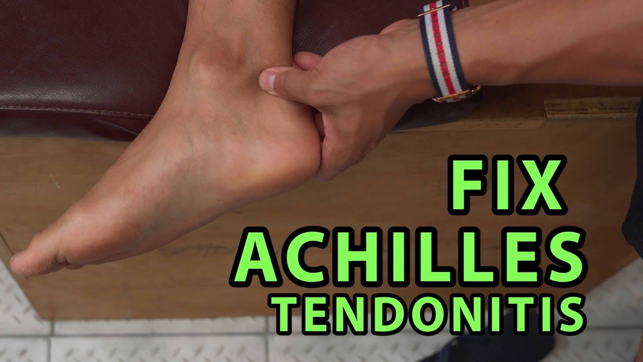 How to Fix Achilles Tendonitis In \