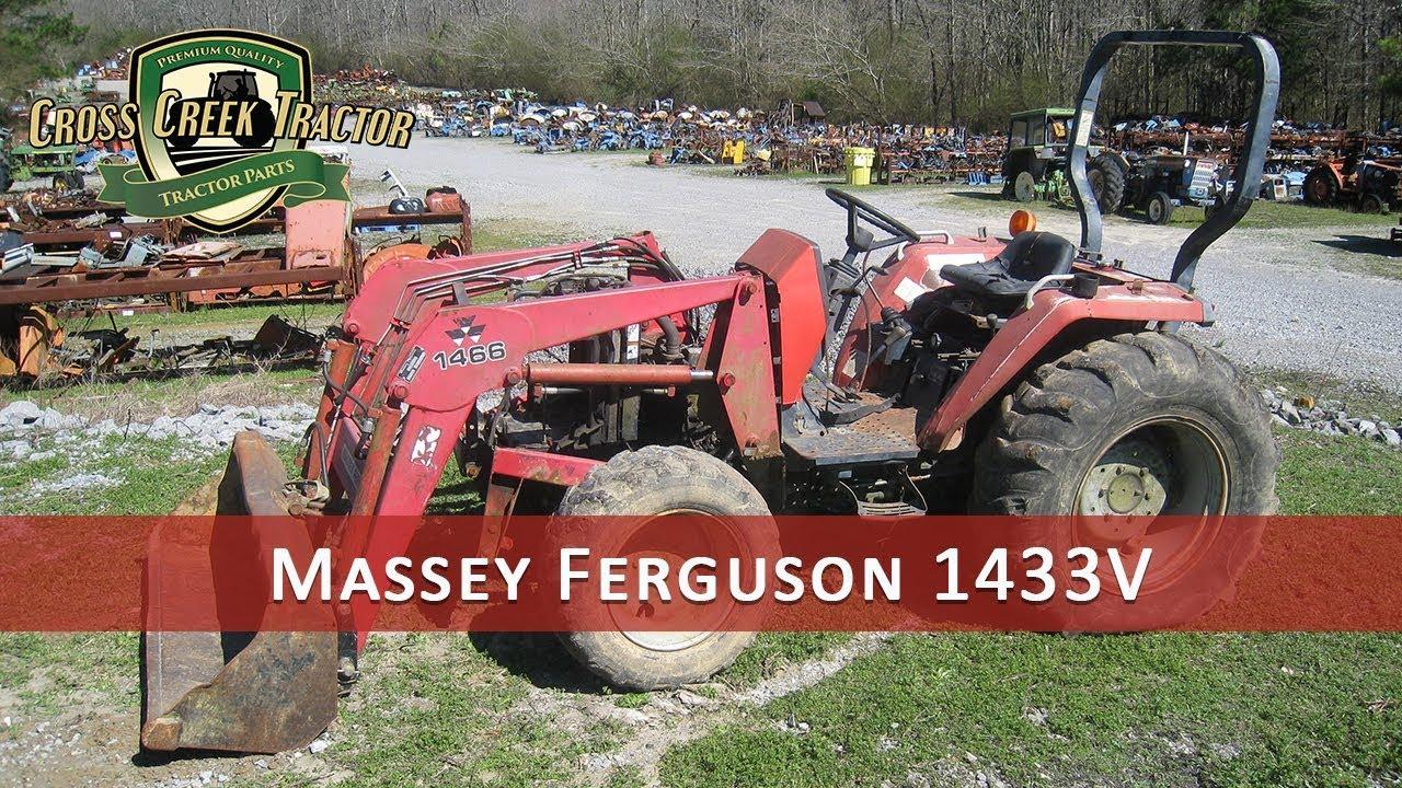 Massey Ferguson 1433V Tractor Parts