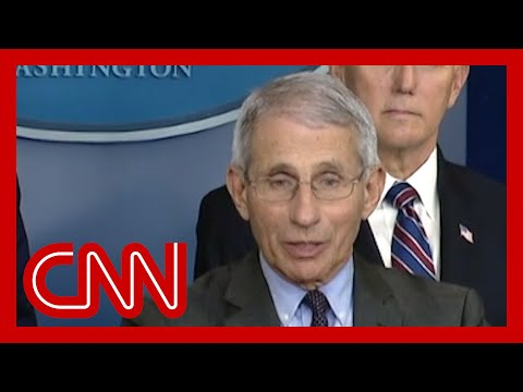 Fauci On Trump: 'I Can't Jump In Front Of The Microphone And Push Him Down'