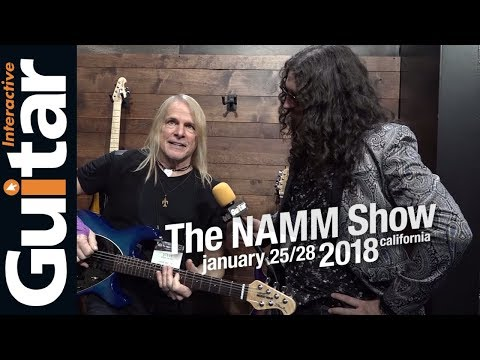 NAMM 2018 | Steve Morse Interview | Ernie Ball/Music Man Booth