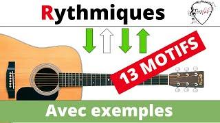 13 Rythmes Guitare et Ukulele avec exemples [Tuto guitare Facile Terafab]