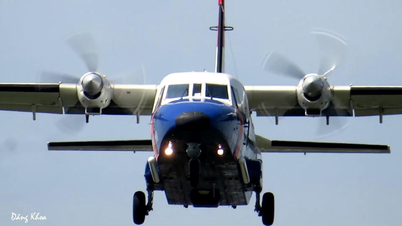 Cận cảnh Casa C212 của Không quân vận tải Việt Nam.