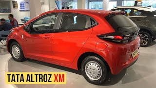 Tata Altroz XM Variant Features Explained In Quick Walkaround
