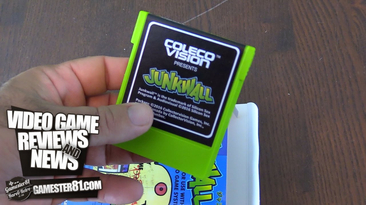 Junkwall - New ColecoVision Game - Gamester81