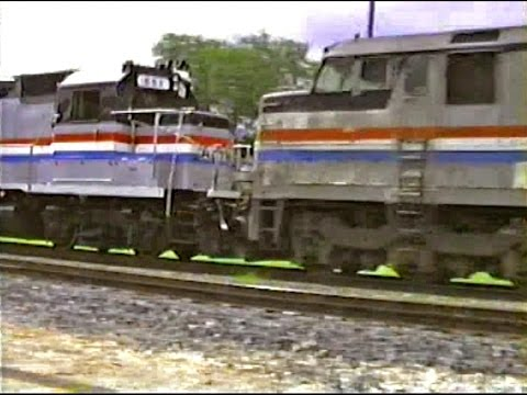 Southern Pacific Action in Westlake, Louisiana - June 13, 1991