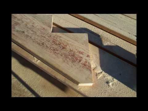 Different Method for Attaching Stringer Bottom to Landing - Stairway Construction Tips