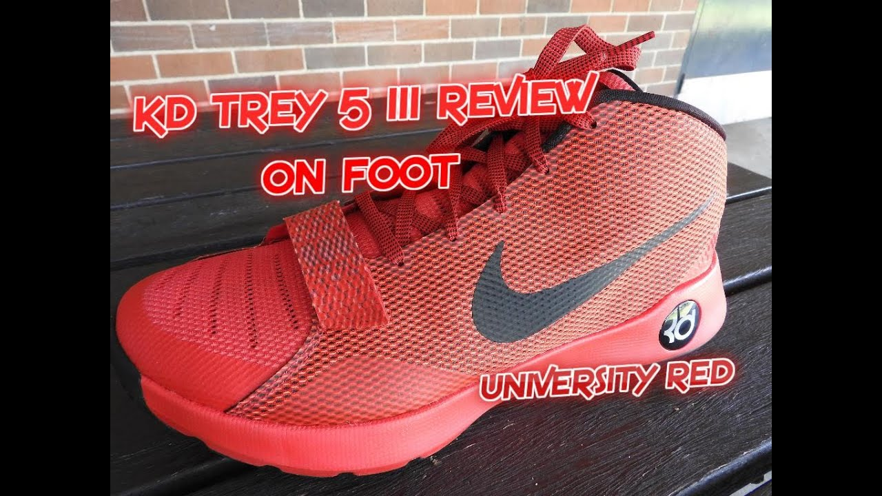 faeeb47f810b KD Trey 5 III Aesthetics   On Foot Review - YouTube
