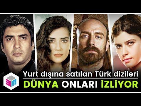 Dünya'ya İhraç Edilen ve en Çok İzlenen Türk Dizileri