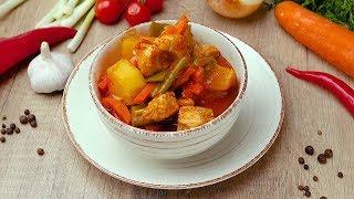 Индейка со стручковой фасолью - Рецепты от Со Вкусом