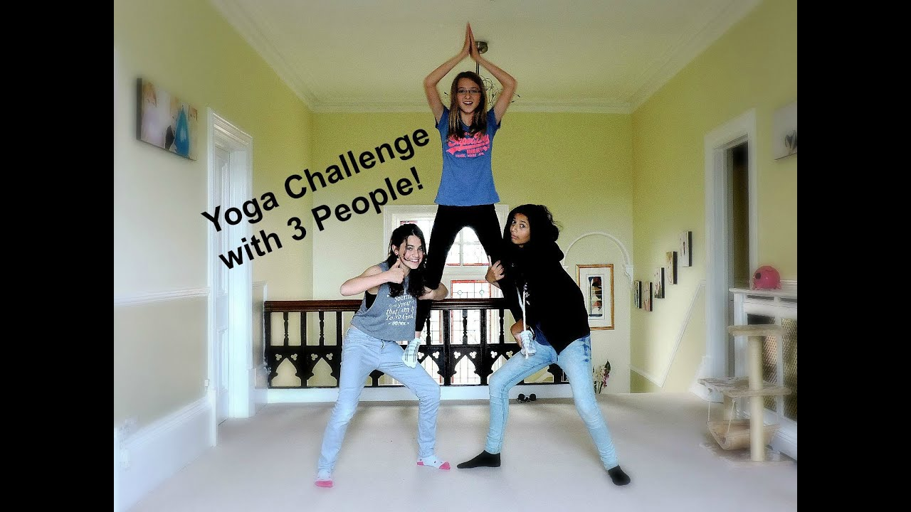 Yoga Challenge with 46 People - YouTube