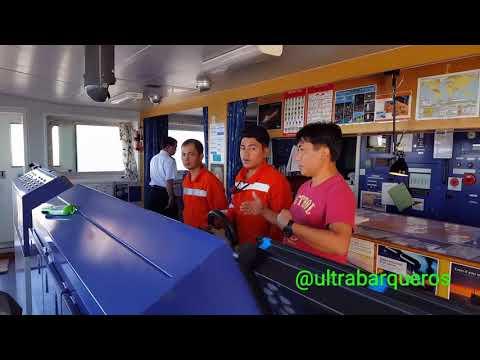 """Bulk Carrier """"SONGA GRAIN"""" - Inbound Vessel #PuntaIndioChannel #RioDeLaPlata - 01st. December 2017"""