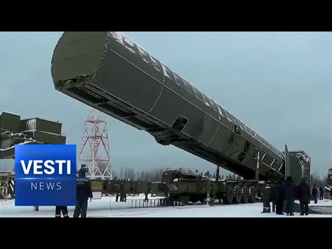 "Development of Next Gen Missiles in Russia Announced - the ""Sarmat"" Enters Active Testing Phase"