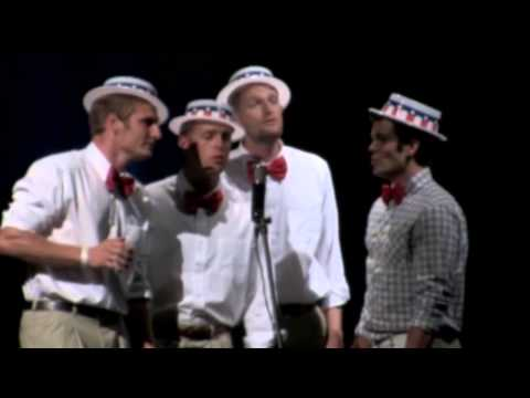 Sing a Song I Feel a Song Coming On acapella barbershop quartet