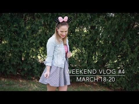 Weekend Vlog 4: Flooring drama, Beauty & the Beast, & I'm definitely hoarder.